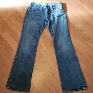 GAP low rise curvy bootcut jeans 6 long tall